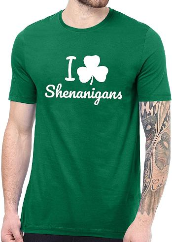 st patrick day shirt green