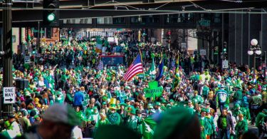 st patricks day parade at NYC