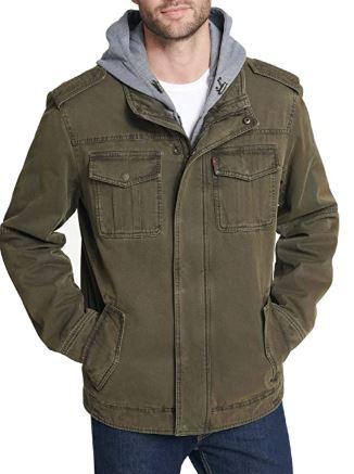cotton jacket with hood