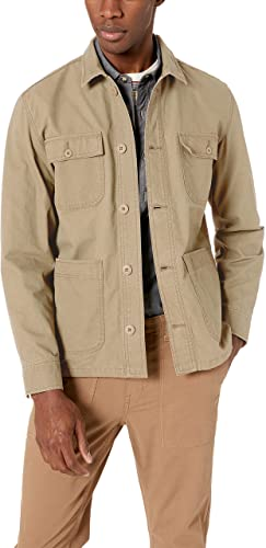 Khaki Mens Jacket