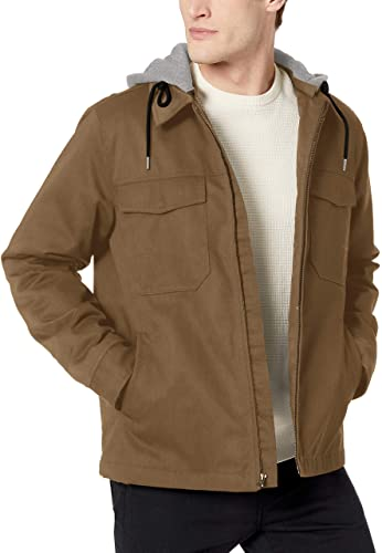 mens cotton khaki jacket