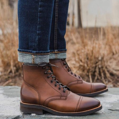 luxury leather boots