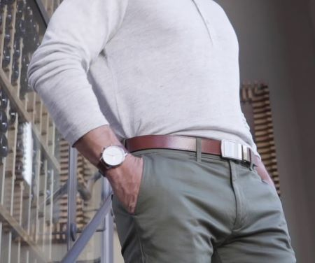 belt and watch