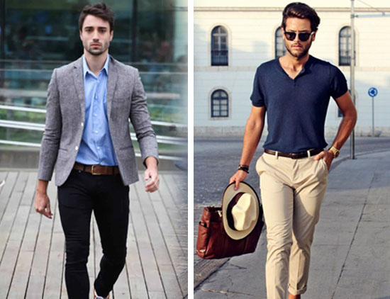 mens casual dress style
