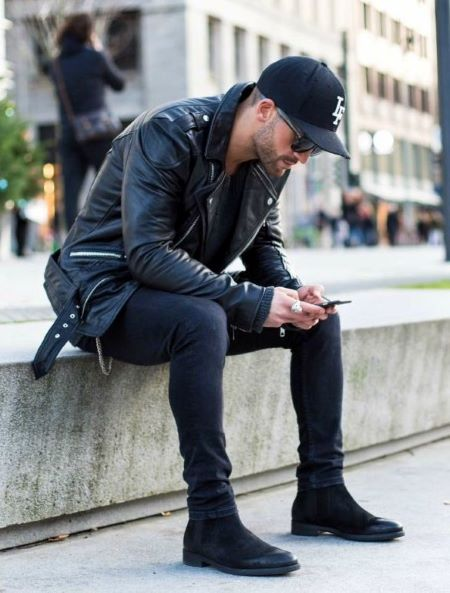 mens leather jacket styles