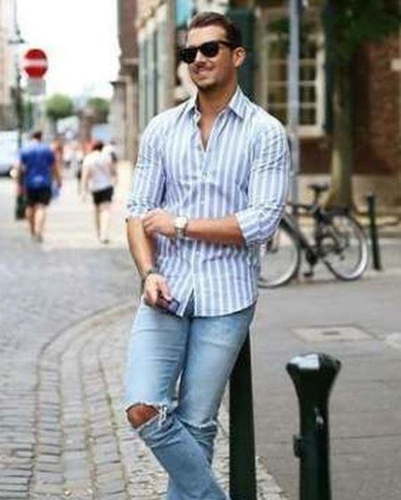 mens shirt casual