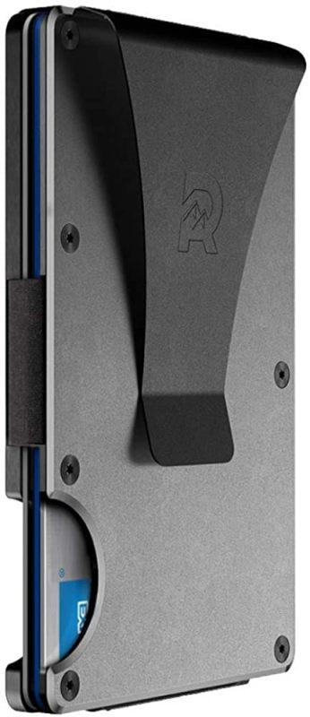 metallic RFID wallet card holder