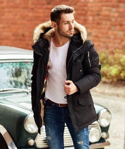 mens parka jacket