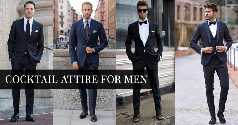 Cocktail Attire For Men fashion