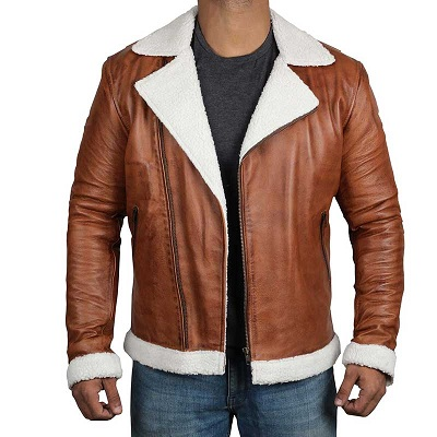 Biker Jacket With Shearling