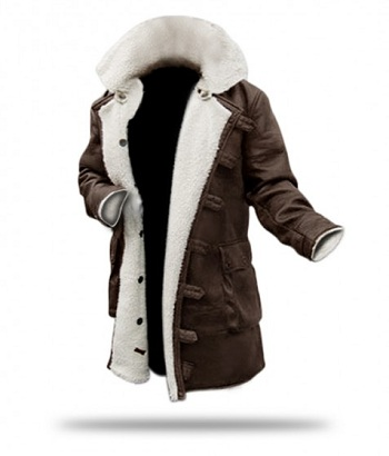 Mens Shearling overcoat