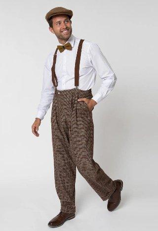 1920 casual look