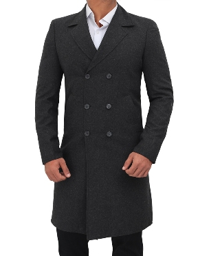 Wool Coat Double Breasted