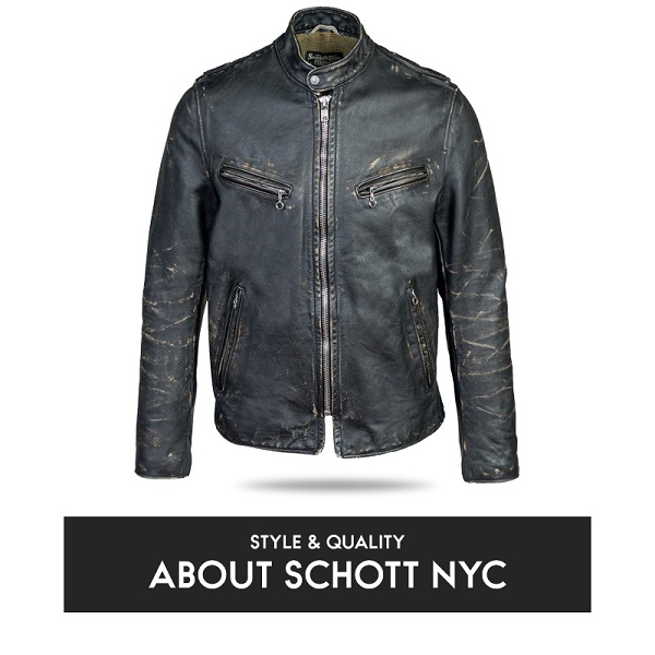 About schott Leather Jacket