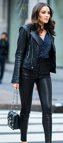 Biker Jacket and Blouse