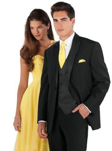 Black Mens Prom Suit