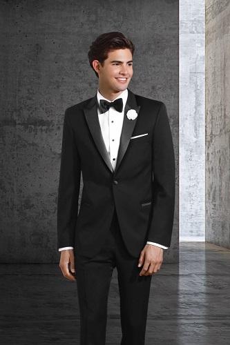 Black Prom Tuxedo
