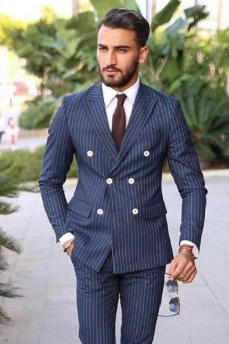 Classic Double Breasted Suit