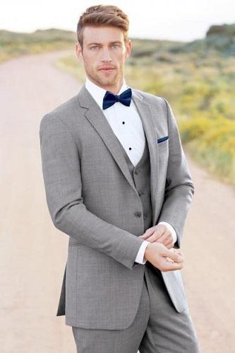 Grey Three Piece Suit