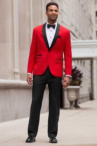 Red Dinner Jacket