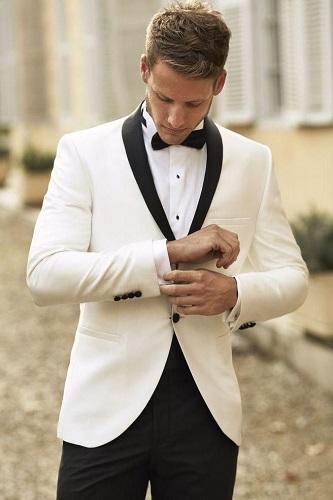 White Dinner Jacket Prom