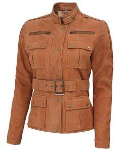 Womens Field Jacket Tan