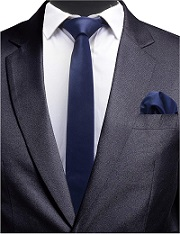 Navy Blue Necktie