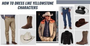 how to dress like yellowstone