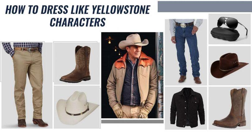 how to dress like yellowstone