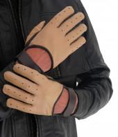Mustard Leather Gloves