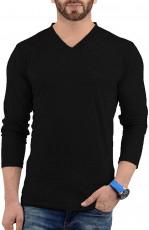 mens plain black shirt