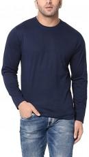 mens plain navy shirt
