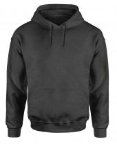 mens charcoal grey hoodie