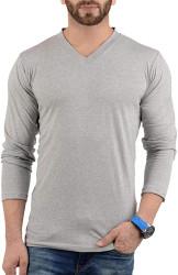 long sleeves heather grey t shirt