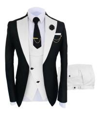 Mens White Prom Tuxedo