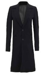 Black Wool Trench Coat Womens