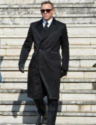 Daniel Craig Overcoat Spectre