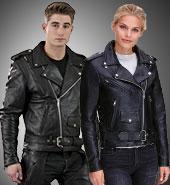 Asymmetrical Leather Jackets