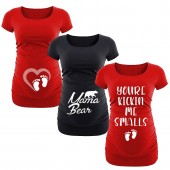 maternity graphics t shirts