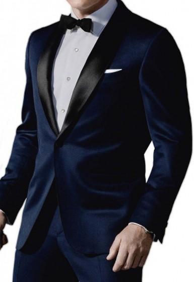 Midnight Blue 007 Tuxedo