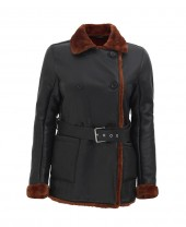 Women Winter Shearling Coat