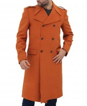 Copper Brown Wool Coat