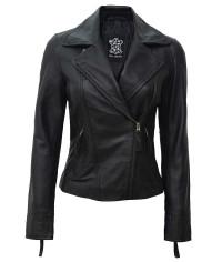 Leather Biker Jacket Women