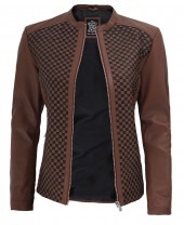 Biker Leather Jacket Women