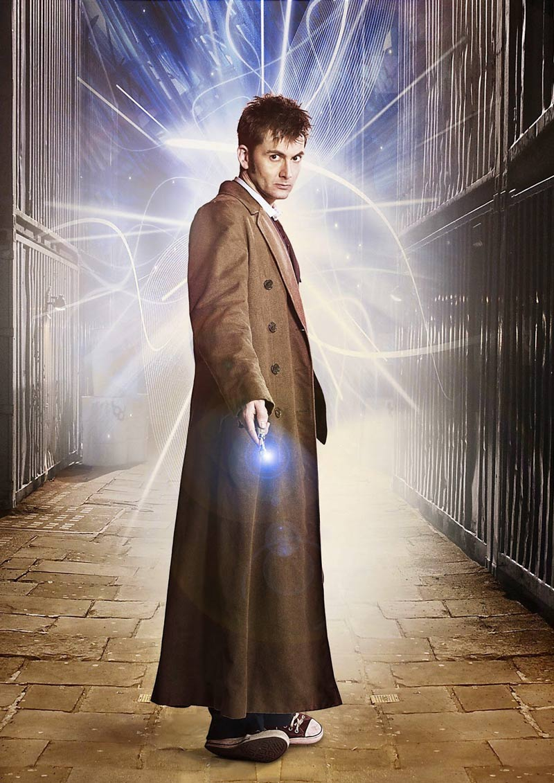 10th Doctor Coat Cosplay Tenth Doctor Who Coat Trench