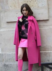 Emily in Paris Pink Coat