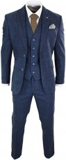Peaky Blinder Blue Suit