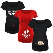 maternity graphic shirts