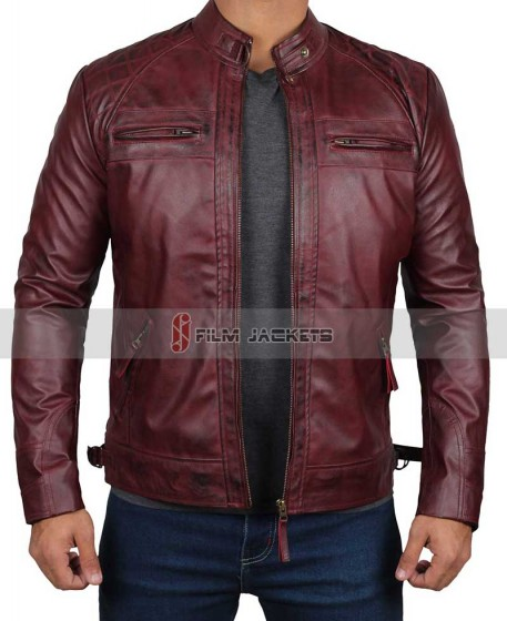 Waxed Leather Jacket