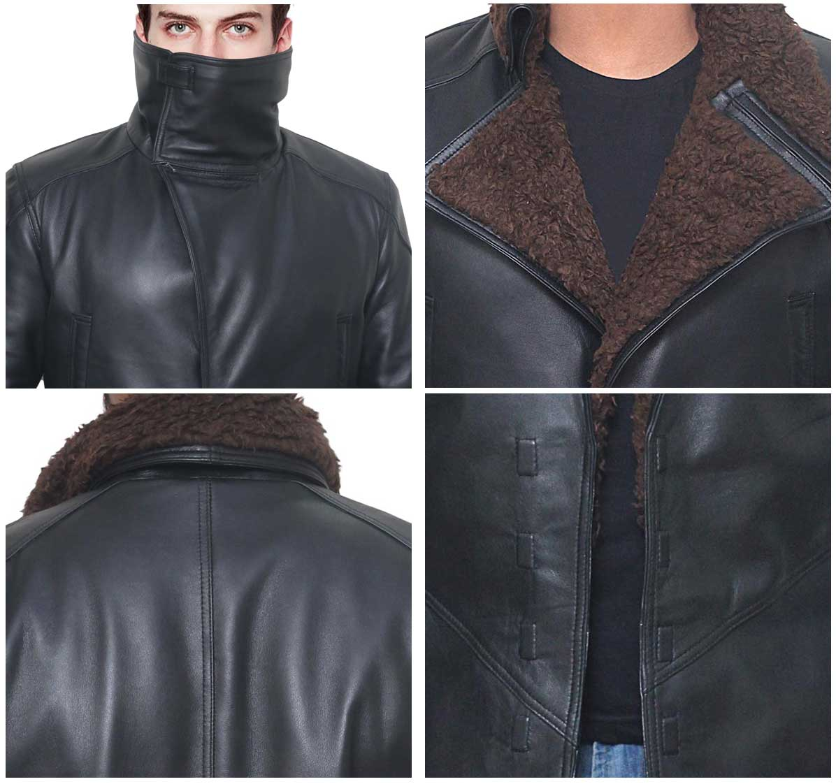 Blade Runner Shearling Jacket